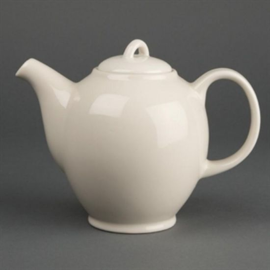 Olympia Ivory Teapots 687ml 25oz Box of 4 URO U140