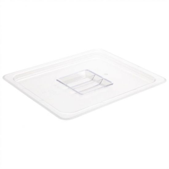 Vogue Polycarbonate 1/2 Clear Gastronorm Lid URO U245