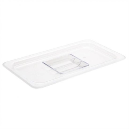 Vogue Polycarbonate 1/3 Clear Gastronorm Lid URO U246
