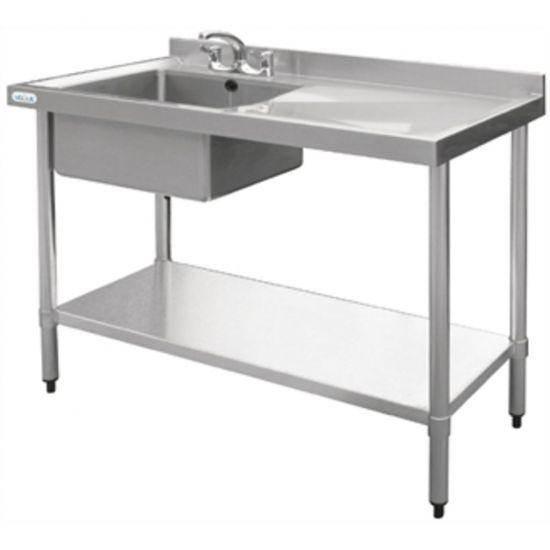 Vogue Stainless Steel Sink Left Hand Bowl 1000x600mm URO U901