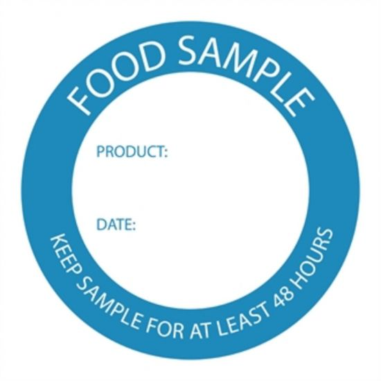 Food Sample Labels URO U915