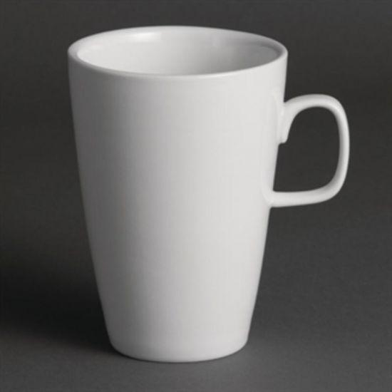 Olympia Latte Mugs 400ml 14oz Box of 12 URO Y109