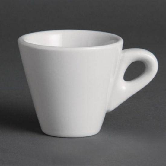 Olympia Whiteware Conical Espresso Cups 60ml 2oz Box of 12 URO Y111