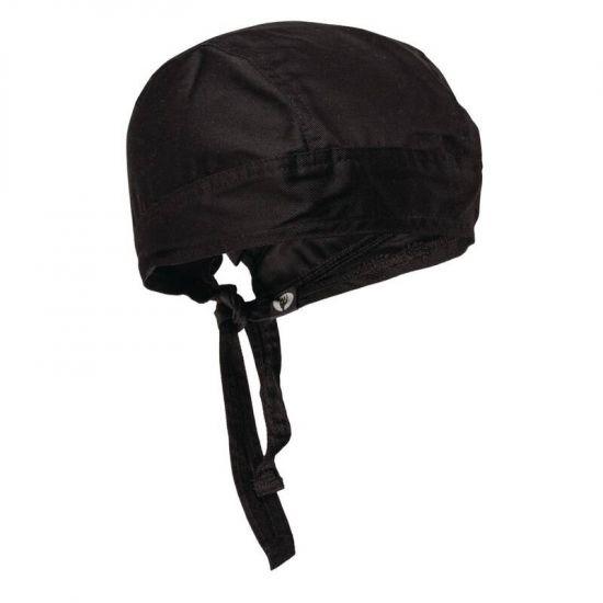 Chef Works Headwrap Black URO A702