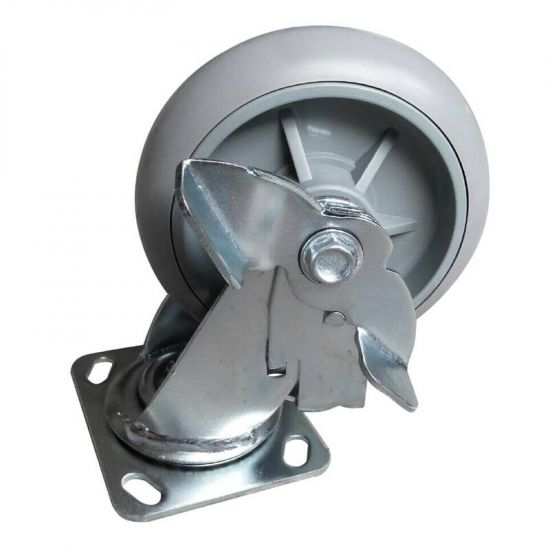 Jantex Spare Braked Castors for Housekeeping Trolley URO AD230