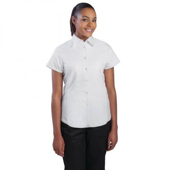 Chef Works Womens Cool Vent Chef Shirt White 2XL URO B180-XXL