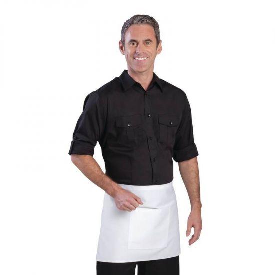 Uniform Works Mens Pilot Shirt Black M URO B210-M