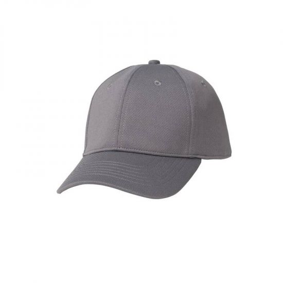 Colour By Chef Works Cool Vent Baseball Cap Grey URO B360