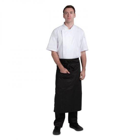 Chef Works Bistro Apron Black URO B751