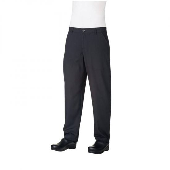 Chef Works Constructed Chefs Trousers Black 30 URO B838-30