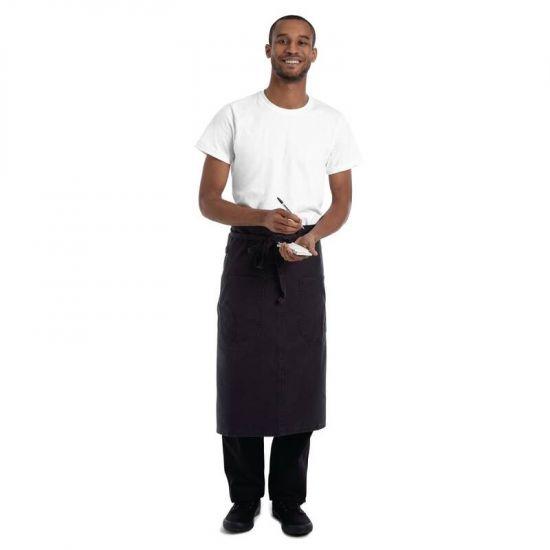 Chef Works Urban Rockford Canvas Bistro Apron Steel Grey URO BB044