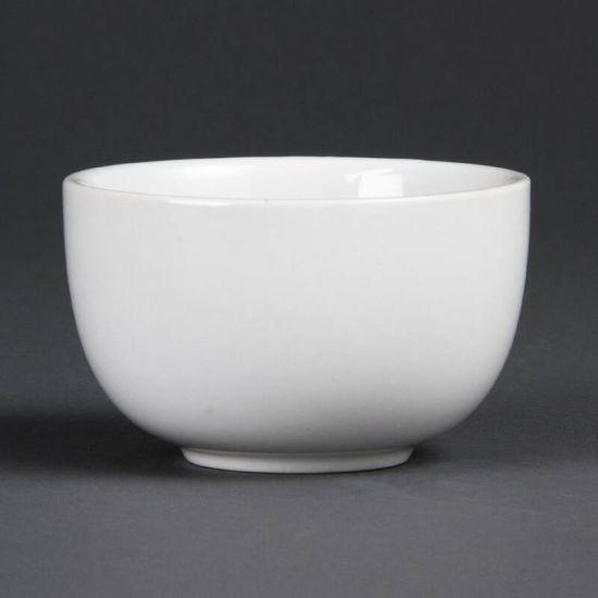 Olympia Whiteware Sugar Bowls 200ml 7oz Box of 12 URO C250
