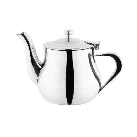 Olympia Arabian Tea Pot Stainless Steel 13oz URO C458