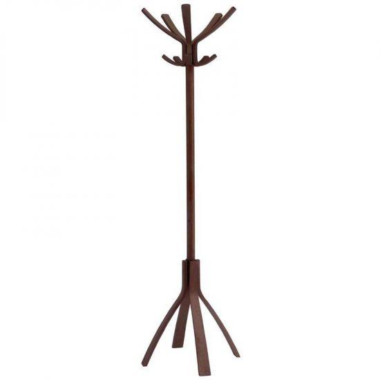 Dark Brown Wooden Coat Stand URO CB051