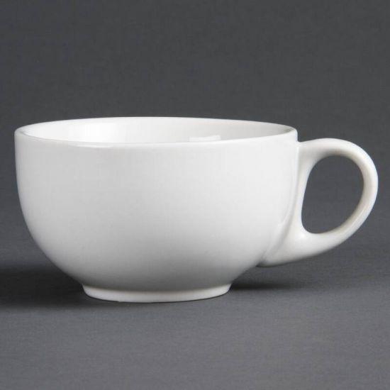 Olympia Whiteware Cappuccino Cups 284ml 10oz Box of 12 URO CB462