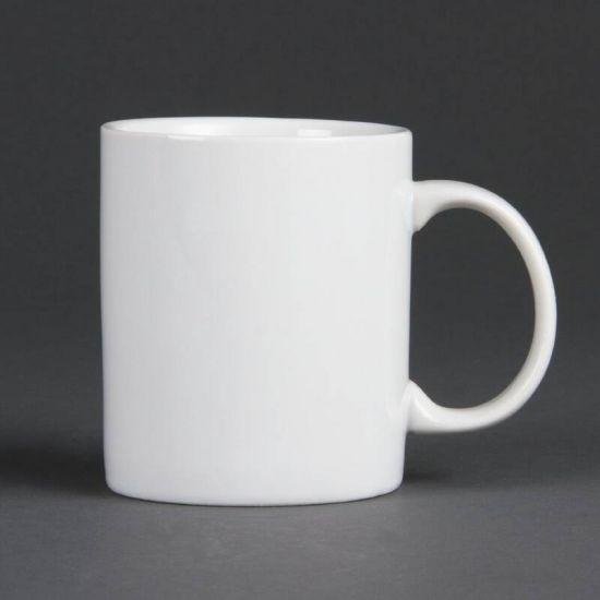 Olympia Whiteware Standard Mugs 284ml 10oz Box of 12 URO CB466