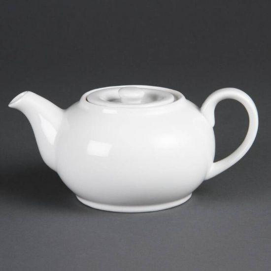 Olympia Whiteware Teapots 426ml 15oz Box of 4 URO CB473