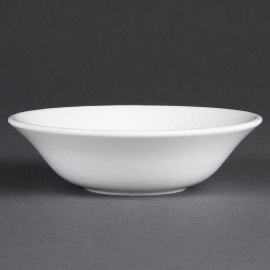 Olympia Whiteware Oatmeal Bowls 150mm Box of 12 URO CB475