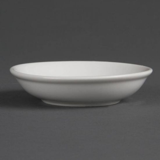 Olympia Whiteware Soy Dishes 100mm Box of 12 URO CB494