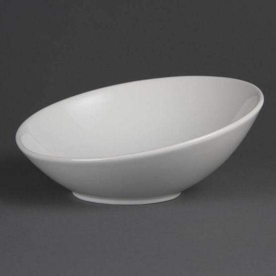 Olympia Whiteware Round Sloping Bowls Box of 4 URO CB686