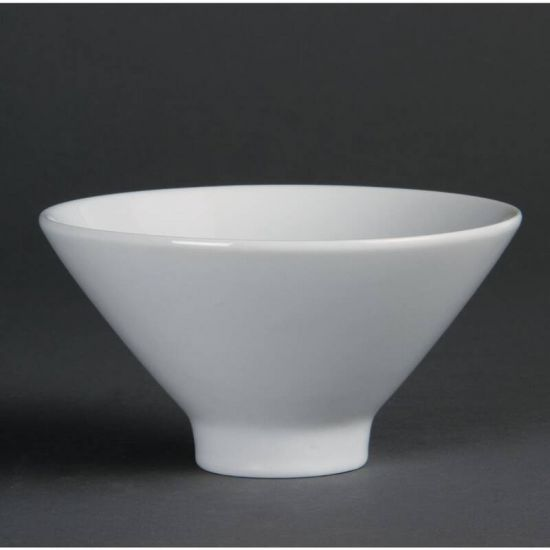 Olympia Whiteware Fluted Bowls 141mm Box of 4 URO CB697