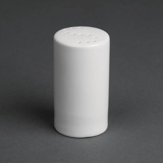 Olympia Whiteware Salt Shakers 80mm Box of 12 URO CB702
