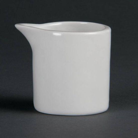 Olympia Whiteware Milk And Cream Jugs 57ml 2oz Box of 6 URO CB704