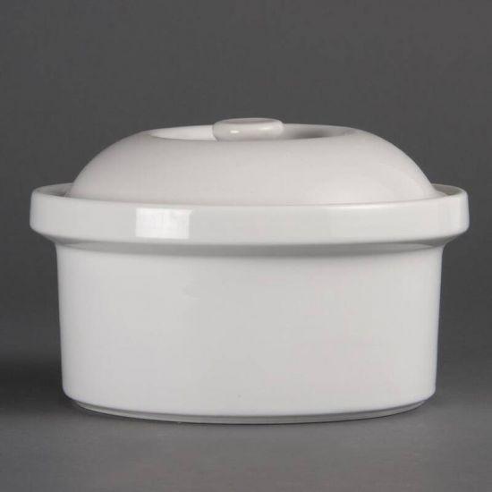 Olympia Round Casserole Dish 200mm URO CB711