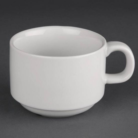 Athena Hotelware Stacking Cups 7oz Box of 24 URO CC200