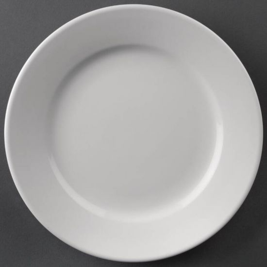 Athena Hotelware Wide Rimmed Plates 165mm Box of 12 URO CC206