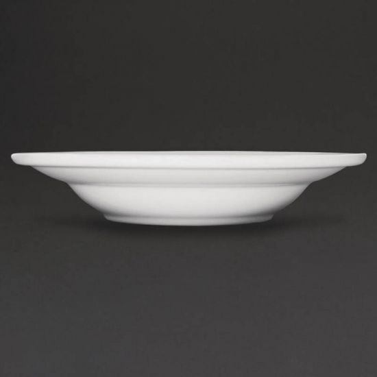 Athena Hotelware Rimmed Soup / Pasta Bowls 228mm Box of 6 URO CC214