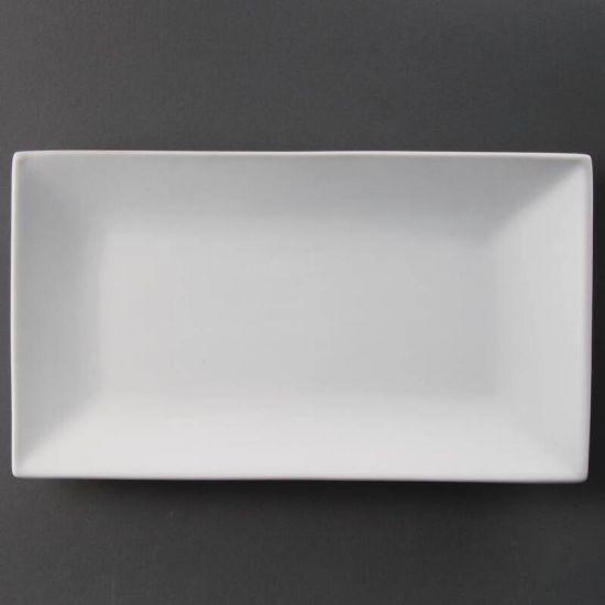 Olympia Serving Rectangular Platters 310mm Box of 2 URO CC895