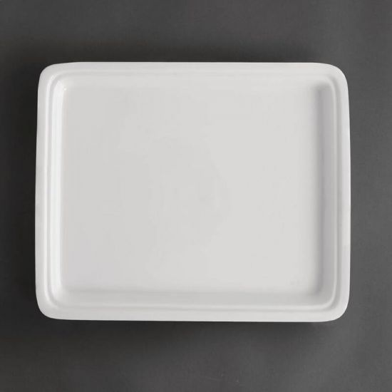 Olympia Whiteware 1/2 Half Size Gastronorm 30mm URO CD716