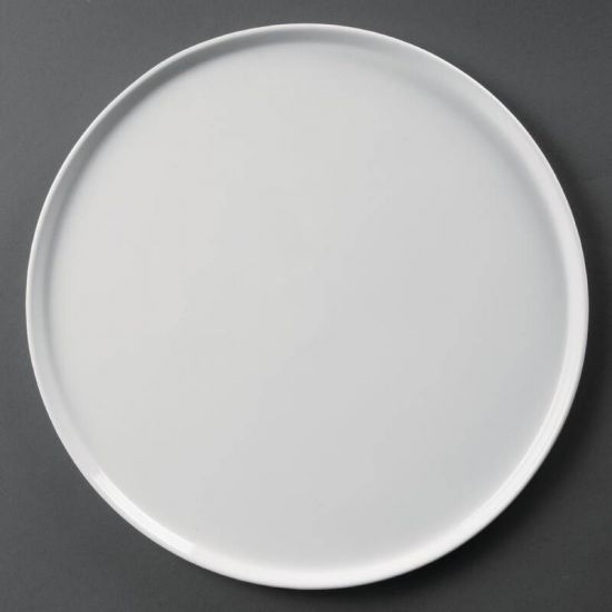 Olympia Whiteware Pizza Plates 330mm Box of 4 URO CD723
