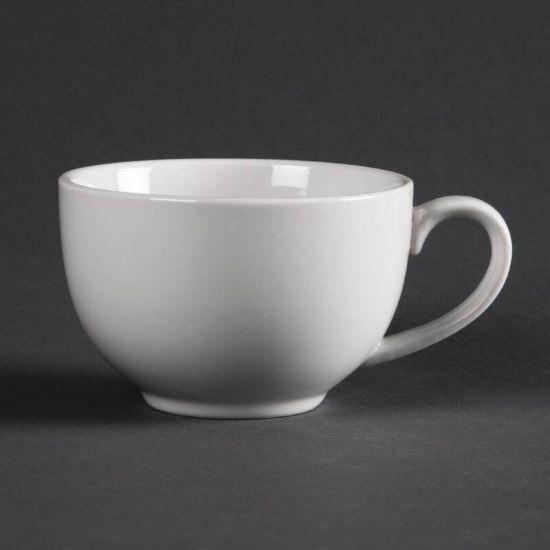 Olympia Whiteware Elegant Cups 230ml 8oz Box of 12 URO CD735