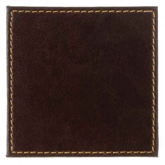 Faux Leather Coasters Box of 4 URO CE296