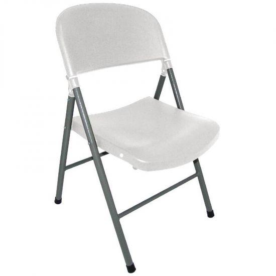 Bolero Foldaway Utility Chair Off White (Pack Of 2) URO CE692