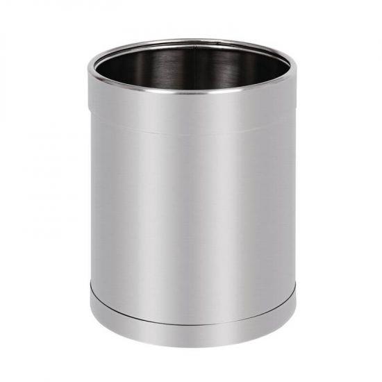 Bolero Stainless Steel Waste Paper Bin URO CF130