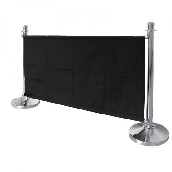 Bolero Black Canvas Barrier URO CF137