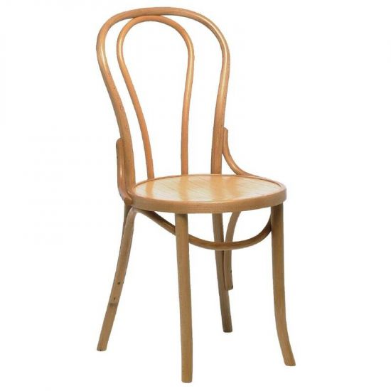 Bentwood Bistro Sidechair Natural (Box 2) URO CF140