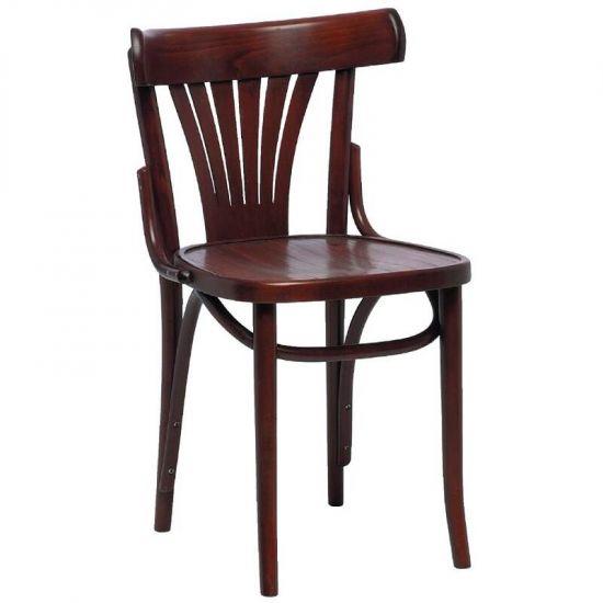 Bentwood Bistro Sidechairs Walnut 460mm (Box 2) URO CF143