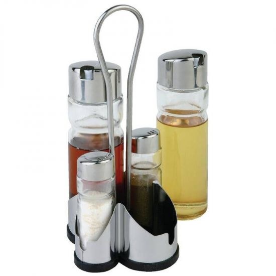 APS Complete Cruet Set And Stand URO CF297