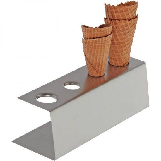 4 Hole Ice Cream Cone Stand URO CF309