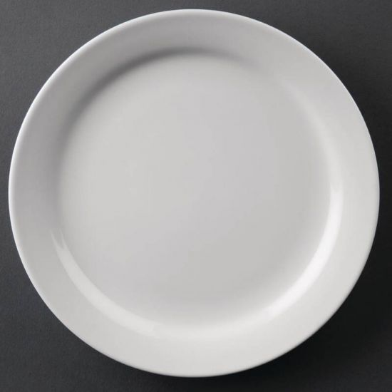 Athena Hotelware Narrow Rimmed Plates 165mm Box of 12 URO CF360