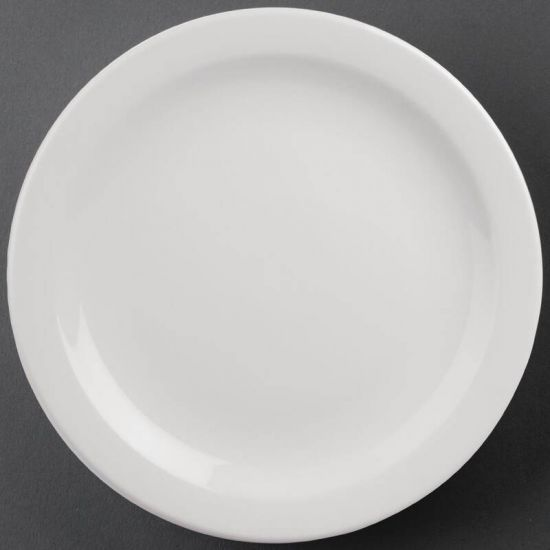 Athena Hotelware Narrow Rimmed Plates 284mm Box of 6 URO CF365