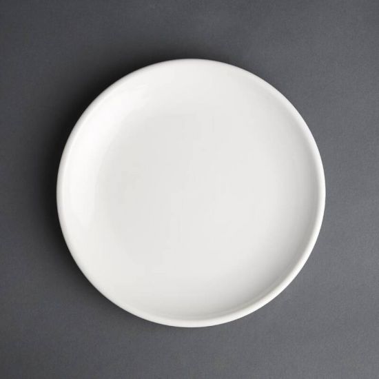 Olympia Cafe Coupe Plate White 200mm Box of 12 URO CG353