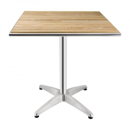 Bolero Ash Top Table Square 700mm URO CG835