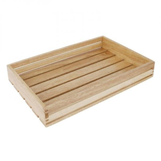 Olympia Low Sided Wooden Crate URO CK959