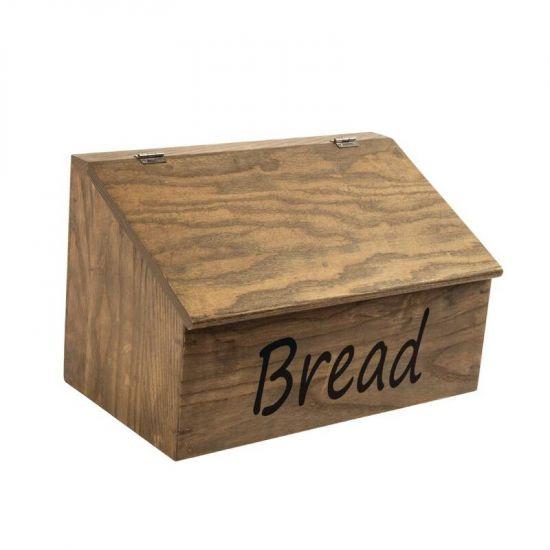 Olympia Wooden Breadbox URO CL005