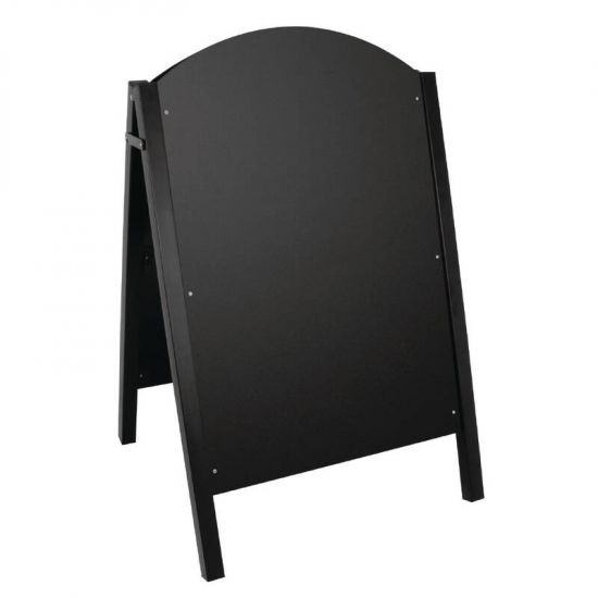 Olympia Metal Framed A-Board Black URO CL009